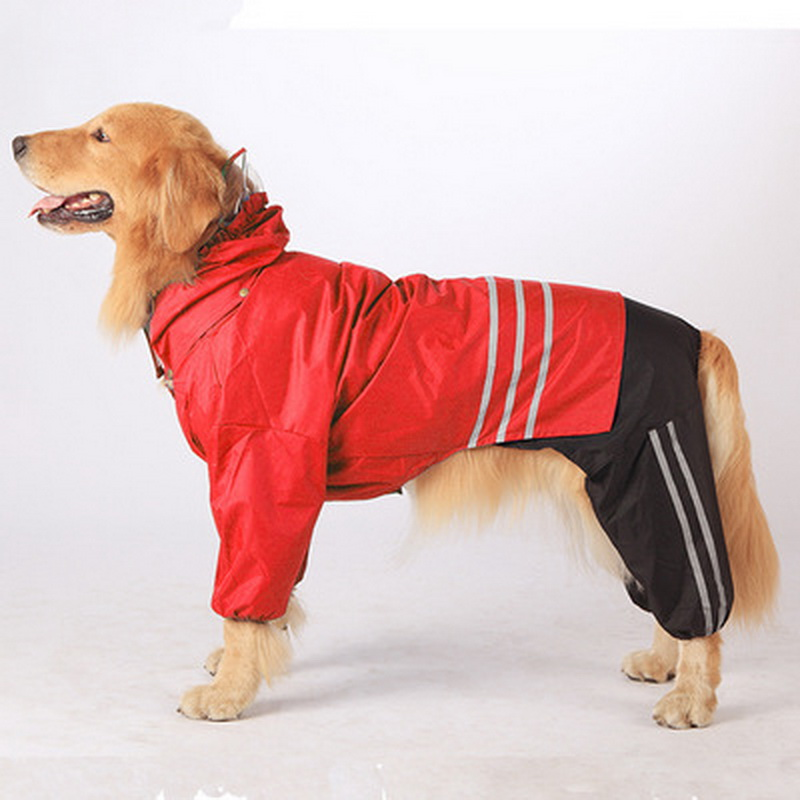 large raincoat for big dogs outdoor clothing