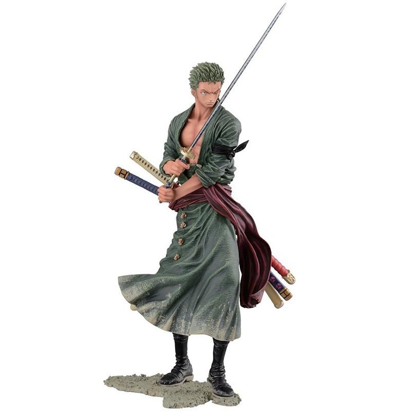ONEPIECE Roronoa Zoro Action Figures,20CM Figure Collectible Toys Action Figure Collectible Brinquedos Kid Model Toys Gift