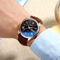 SANDA herren Uhren Top Brand Luxus männer Leder Uhr Wasserdicht Mode Casual Goldene Uhr Männlichen Neueste Relogio Masculino