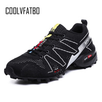 COOLVFATBO Spring Summer Breathable Light Mesh For Men Sneakers Male Shoes Lover Casual Adult Walking Couples Brand Footwear