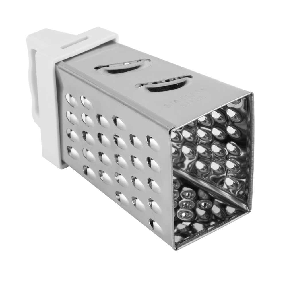 Kullanışlı Mini 4 Tarafı Tasarım Paslanmaz El Rende Dilimleme Mutfak Aracı
