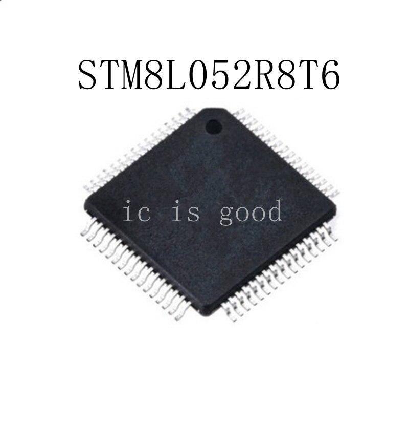 5PCS STM8L052R8T STM8L052R8T6 QFP 64