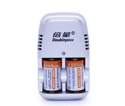 2 PCS/lot New CR2 3V 900mAh LiFePO4 Rechargeable Battery Polaroid multimeter 3.2 V batteries + cr2 3.6V Charger Free shipping