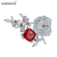 Teemi Hot 2015 New Korean Style Wholesale Fashion CZ Crystal Rhinestone Noble Woman Mother Gift Magnetic