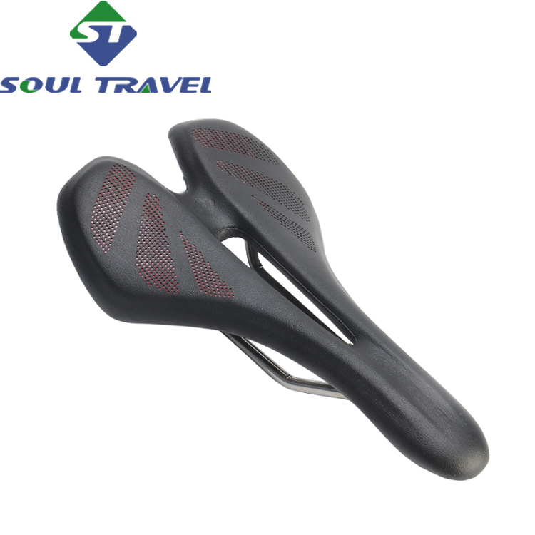 Soul Travel Men Mountain Bike Fiber Cushion Titanium Seat Saddle Imitation Leather Road Bicycles Carbonio Selim Cojines New new arrival carbon saddle bicycle bike saddle seat road bike saddle sillin bicicleta sillin carbono sella carbonio