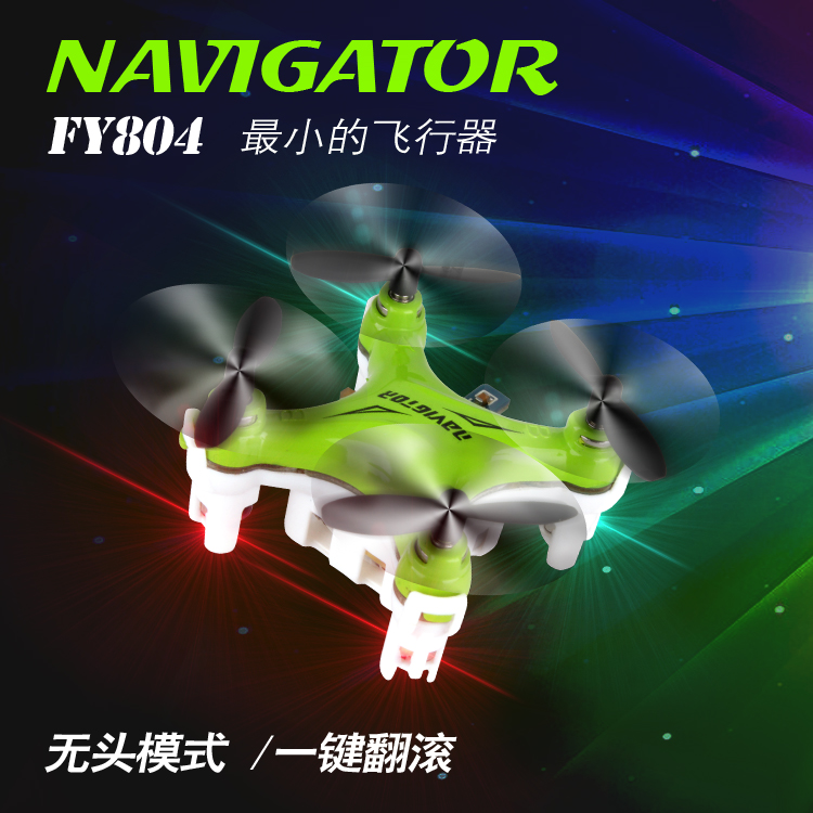 Mini Parrot Drone Helicopter FY804 4CH 2.4G 6Axis 360 Degree Roll Drone LED Plane Model Toys RC Quadcopter