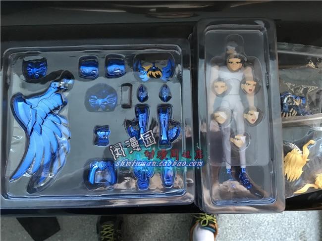 GREAT TOYS GreatToys GT EX Saint Seiya Cygnus Hyoga V3 Myth Metal Armor Cloth Action Figure Multan