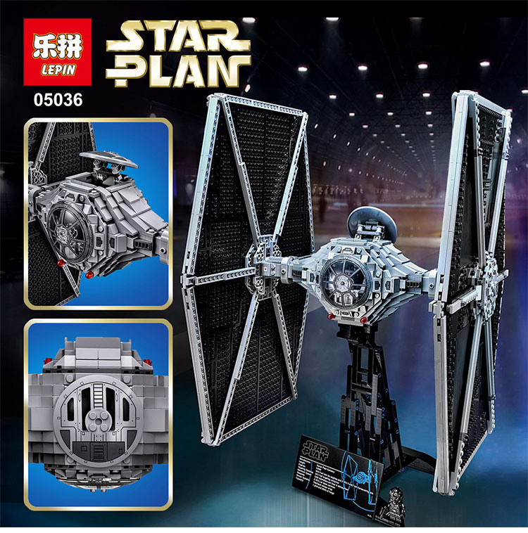 NEW  Lepin 05036 1685pcs Star War Series Tie Fighter Building Educational Blocks Bricks Toys Compatible legoed 75095 lepin 22001 pirate ship imperial warships model building block briks toys gift 1717pcs compatible legoed 10210