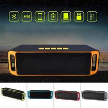 DSstyles Wireless Bluetooth Speaker USB Flash FM Radio Stereo MP3 Player Support TF Card недорого