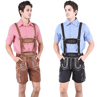 Oktoberfest Men Cosplay Costumes German Beer Party Cosplay Costumes Bavaria Traditional Clothes Men Halloween Costumes S