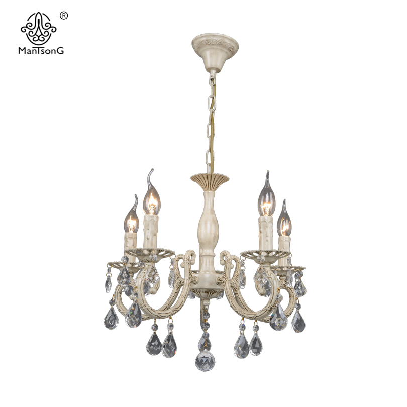 Retro Crystal Pendants Chandeliers Lights Vintage White Pendant Lamp Classical Living Room Europe Pendant Lamps Home Lighting a1 master bedroom living room lamp crystal pendant lights dining room lamp european style dual use fashion pendant lamps