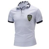 100 Cotton Aeronautica Militare Men Polo Shirt 2017 Summer Style Short Sleeve Turn Down Collar T