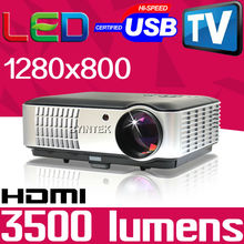 Big Discount Home Theater TV Tuner Projector High Definition full hd Multimedia PC 1080P Mini Video HDMI USB LCD LED