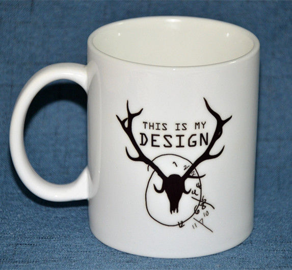 Hannibal This Is My Design Mug Deer Ceramic Mugs Creative Coffee Tea Milk Mugs Cup Collectible Christmas  Cups Home Decor Gift