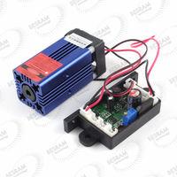 300mw 635nm 638nm Orange Red Laser Module Diode Dot Fan TTL 12VDC