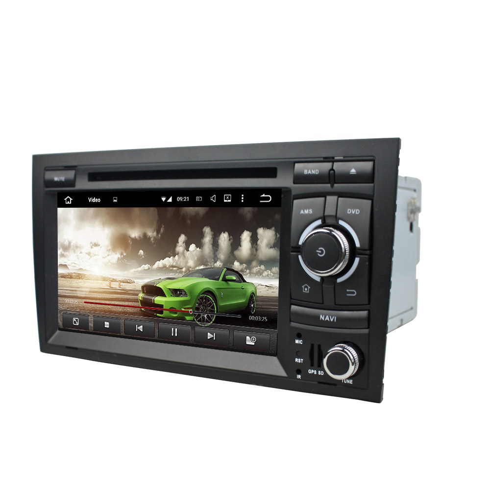 2GB RAM Octa Core 7 Android 6 0 Car Radio DVD Player for Audi A4 2002