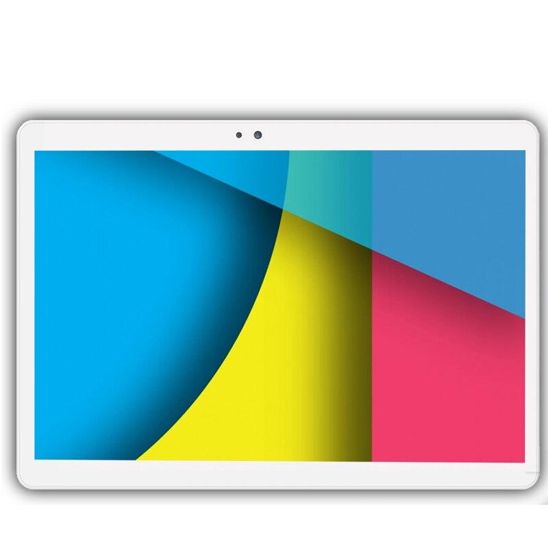 חדש 10.1 inch מקורי 3 גרם נייד טלפון אנדרואיד 7.0 64 gb ROM 8MP Tablet PC 8 אוקטה שמונה ליבה ה-sim הכפול WiFi FM IPS Google tablet