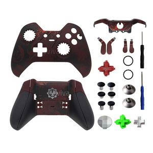 Image 2 - Replacement Parts For Xbox One Elite Controller Shell Bumper Cover Case Buttons Grips for Gears of War