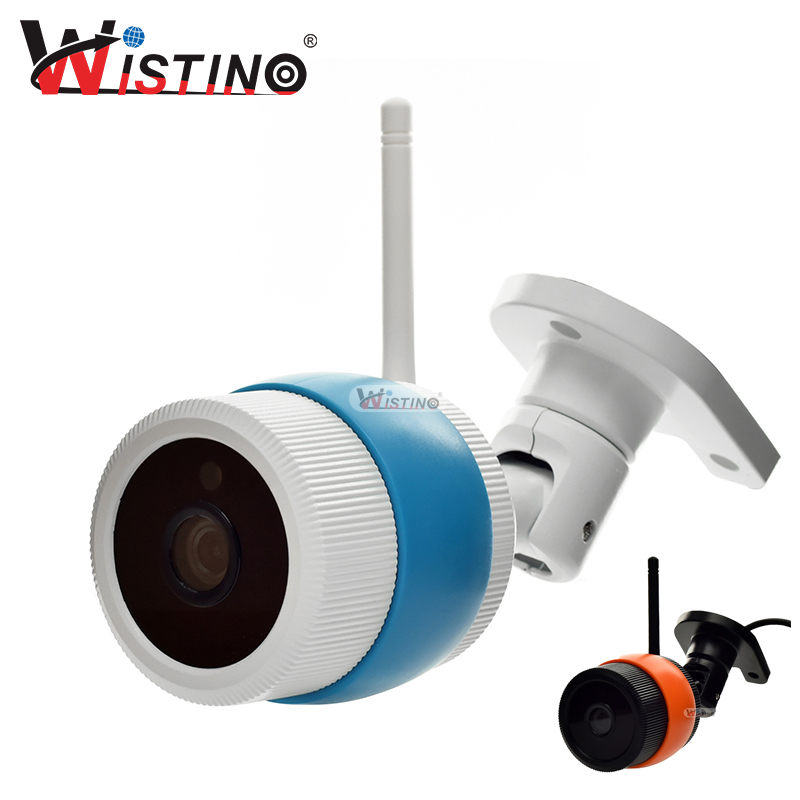 Wistino CCTV 1080P/960P WiFi Bullet IP Camera White Outdoor Street Waterproof Wireless Surverillance Support Onvif Yoosee cctv camera housing metal cover case new ip66 outdoor use casing waterproof bullet for ip camera hot sale white color wistino