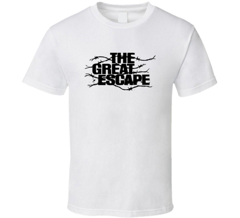 Gildan die great escape film 1963 amerikanischen wwii film klassische fan t-shirt