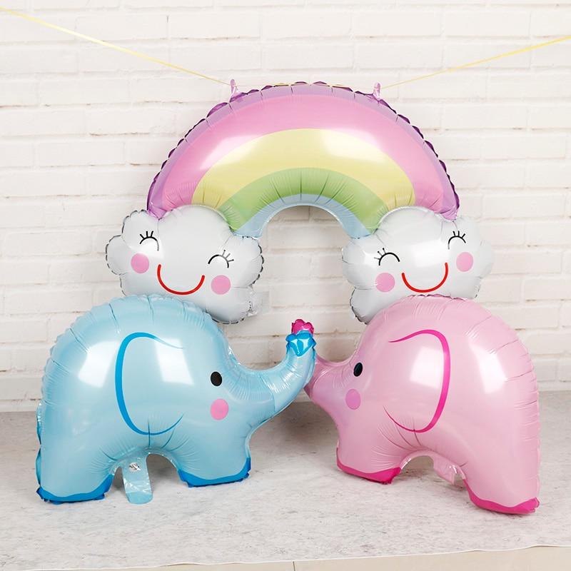 Birthday Elephant Helium Foil Balloon - 42 inch
