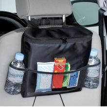 Multi-Pocket Car Seat Storage Container