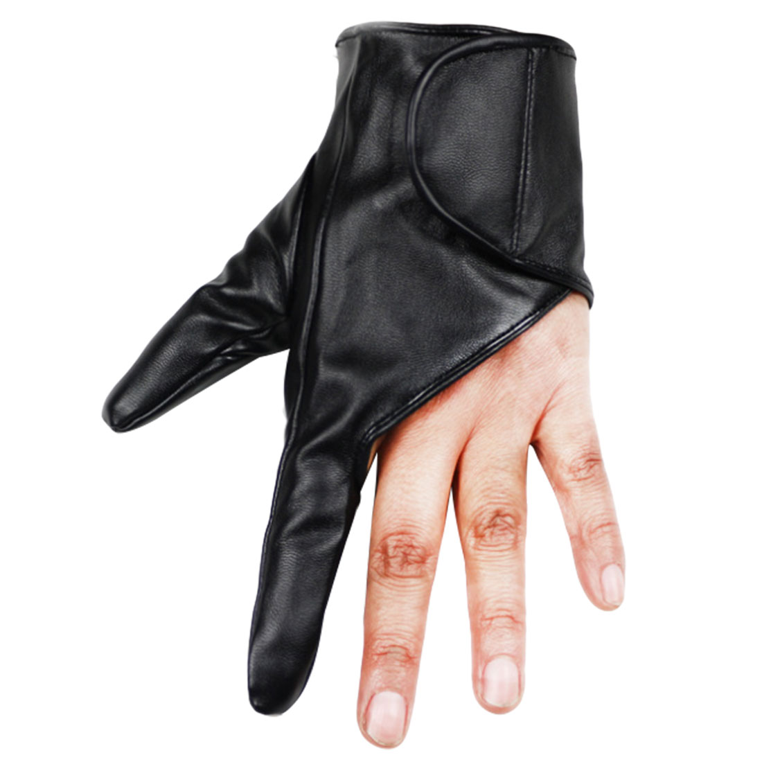 New Arrival Party Leather Gloves Dancing Women Gloves Showing Black Gold White Red Fingerless Sexy Ladies