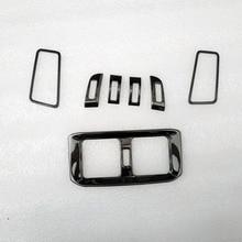 Garnish Air Vent Trim Cover trim for toyota rav4 rav 4 xa50 2019 2020 interior accessories parts Stainless steel цены