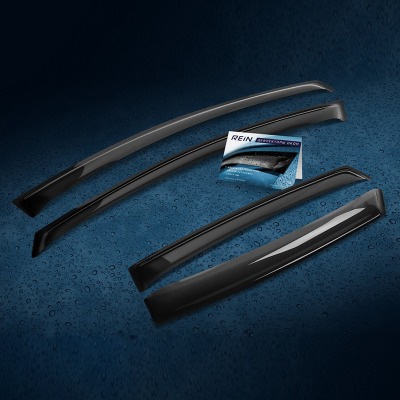 Deflector window (PATCH tape M) 4 PCs For CHEVROLET CRUZE 2009-2015 hatchback 10 pcs convenient safe health slimming patch