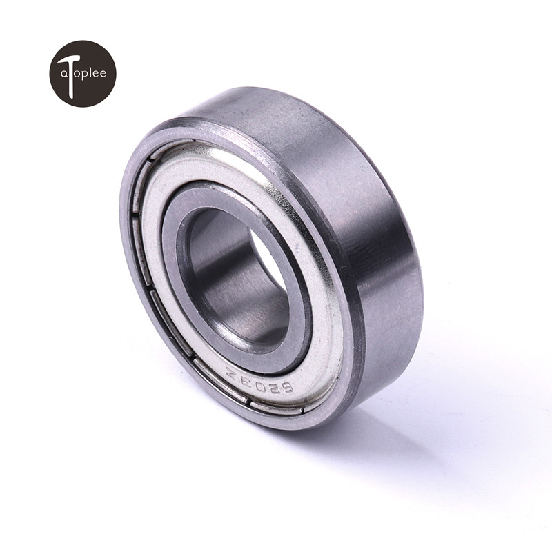 Durable 2pcs Bearings Steel Ball Bearings 6200/6201/6202/6203/6204ZZ For General Machinery And Equipment Hot Sale