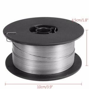Image 3 - 1 rulo paslanmaz çelik katı özlü MIG kaynak teli 0.8mm 500g/1kg teller için gıda/genel kimyasal ekipman