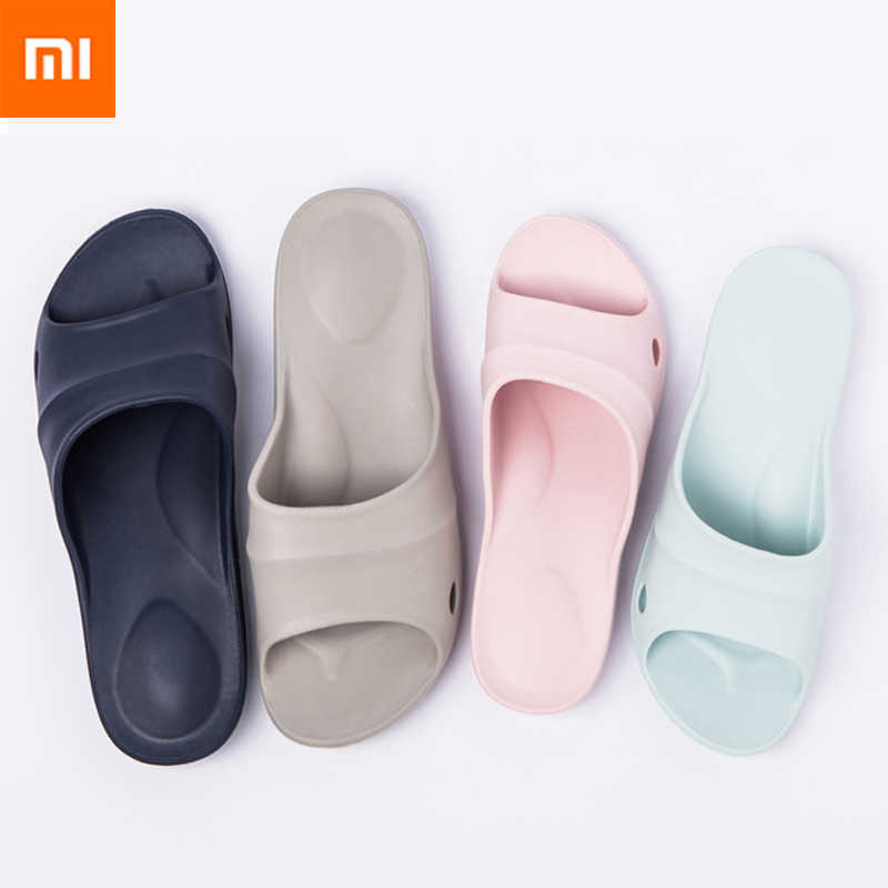 News Xiaomi mijia High Qualit Slippers Summer Women Slippers Soft Flip Flops Ladies Man Sandals Casual Shoes Slip smart home