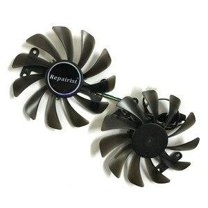 2 шт./компл. GF10012H12SPA 0.5A GTX1080 GPU видеокарты кулер вентилятор для zotac GeForce GTX 1080 1070 AMP Видеокарта охлаждения