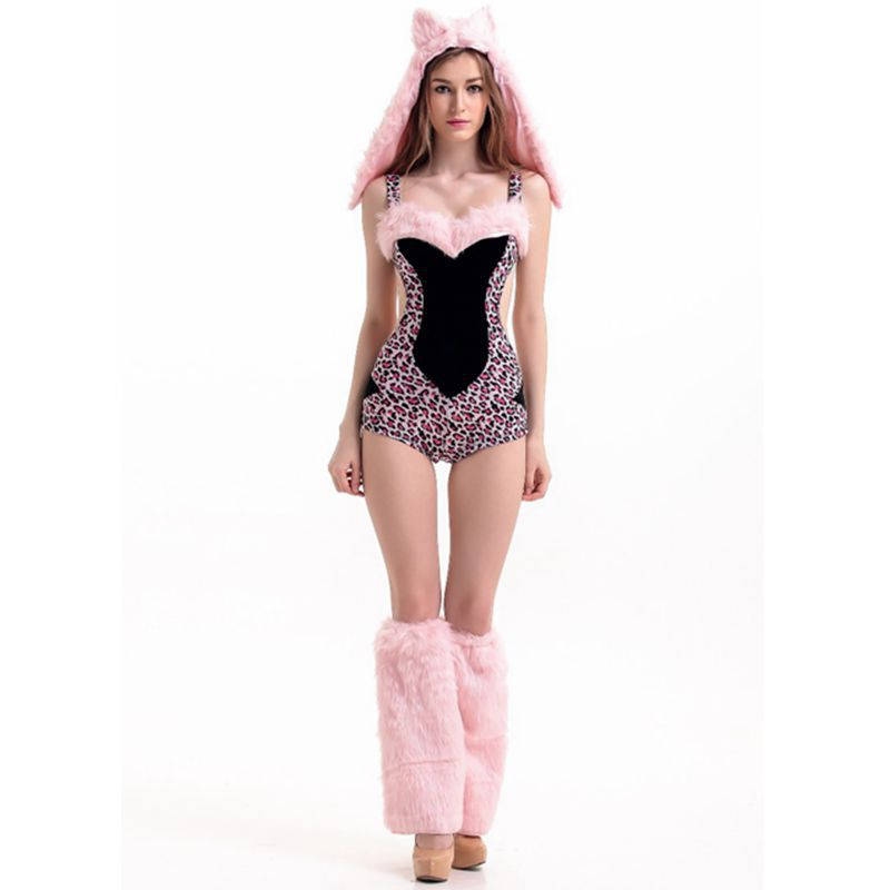 Adult Animal Onesies Tiger Leopard Sexy Halloween Costume For Women Disfraces Adultos Helloween Haloween Disfraces Halloween