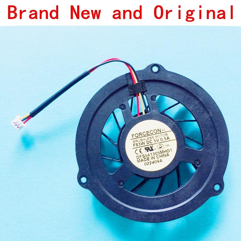 Кулер для охлаждения процессора ноутбука, радиатор для ноутбука FORCECON sz DFS541305MHOT DFS541305MH0T F83W DC5V 0.5A