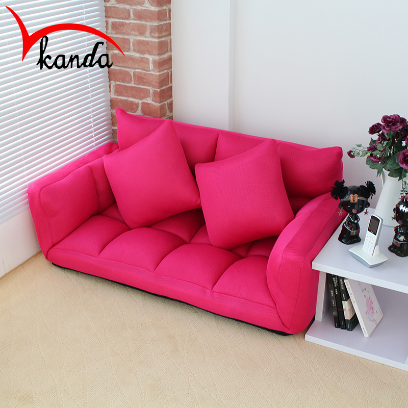 small apartment cloth beanbag tatami fashion double folding sofa bed washable ikeain library furniture from furniture on
