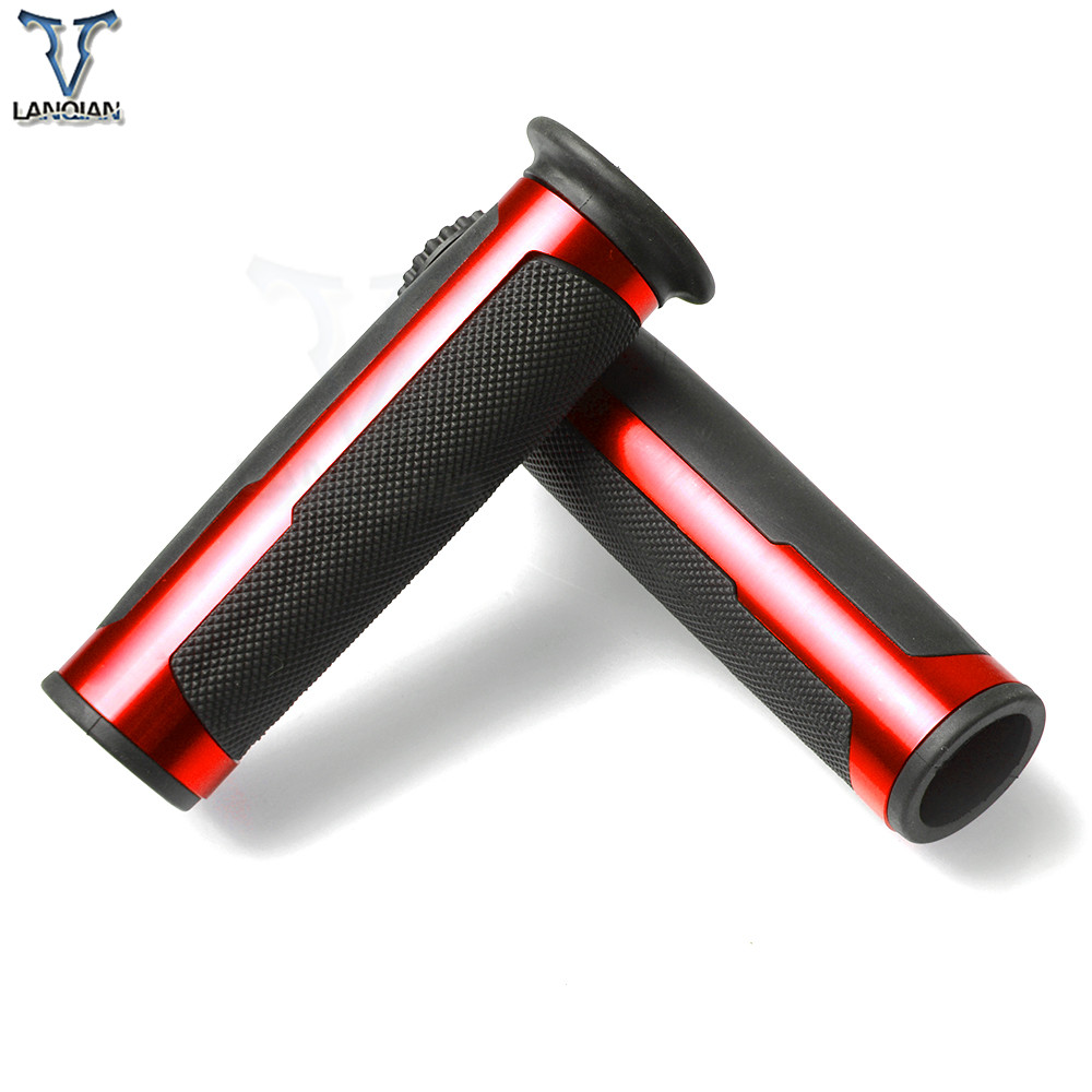 Image 2 - Universal Motorcycle Handlebar Hand Grips for KTM AJP PR4 04 09 AJP PR5 250 09 12 SUZUKI GSXR600 GSXR750 08 14 AN250 AN400 AN650-in Grips from Automobiles & Motorcycles