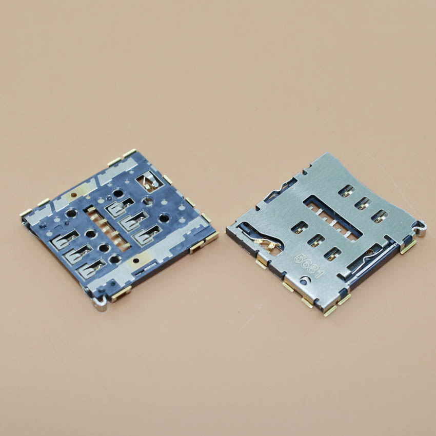 YuXi 1pcs/lot New sim card adapters For Coolpad K1 K1-NT 8716 ivvi slo holder socket replacement connector.