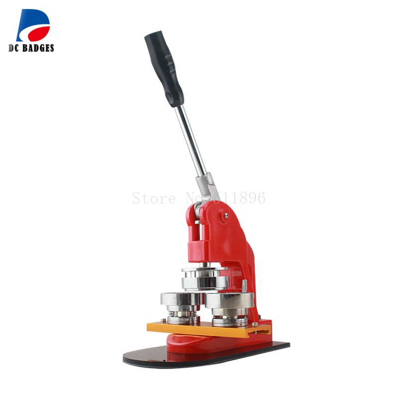 2 50mm Round Badge Making Machine New Button Maker Including the Mould 58mm metal badge mould the badge mould of the button badge machine
