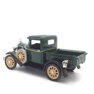Image 3 - 1:32 מכונית קלאסי בציר עתיק משאית מודל סגסוגת רכב דגם עבור פורד אורך 13 cm