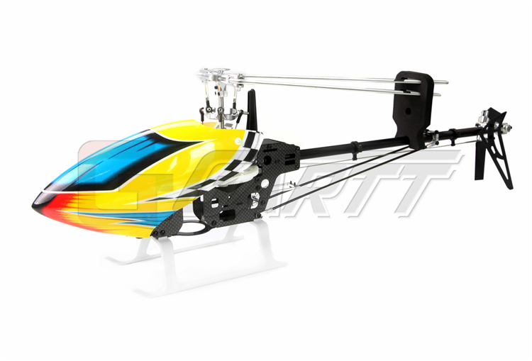 Ormino Freeshipping Gartt 450 DFC GT Belt Version(include Canopy & Blade) freeshipping gartt 450 dfc torque tube include canopy