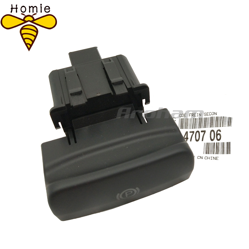 NEW High Quality Genuine Parking Brake Switch Electronic Handbrake Switch 470706 For Peugeot 5008 308 3008