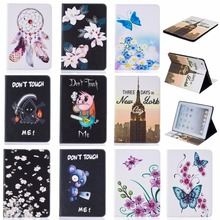 "For Apple iPad 2 three four Case Trend Butterfly Flower Pig Sample Pockets Flip PU Leather-based Pill Again Cowl For iPad 234 9.7"" Funda"