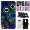 Oil Painting Pattern Case for ZTE ZMax Z Max Pro Z981 6.0'' inch PU Leather Wallet Flip Cover with Card Slot Fundas Coque B05