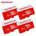 100% Первоначально Неподдельный Gigastone реальная емкость Качество карт памяти 8 ГБ 16 ГБ 32 ГБ 64 ГБ class10 tf micro sd карты бесплатная доставка