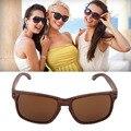 Madeira Óculos De Sol Reflexivos Esportes Óculos de Sol das mulheres dos homens de Moda Ao Ar Livre Praça Eyewear gafas de sol Quente