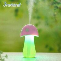 Jiaderui Cartoon USB Air Ultrasonic Humidifier Light Aroma Diffuser Mist Maker Water Purification Touch Mushroom Lamp