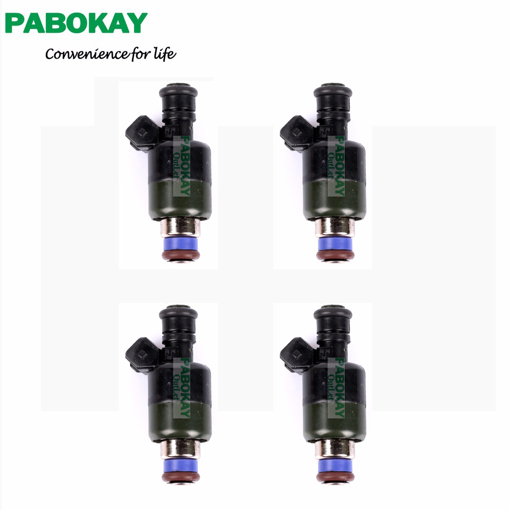 4 Pieces X Fuel Injector For DAEWOO Nexia Lanos Espero Nubira 1.5 1.6 16V 17109450 FJ10624-11B1 251740240