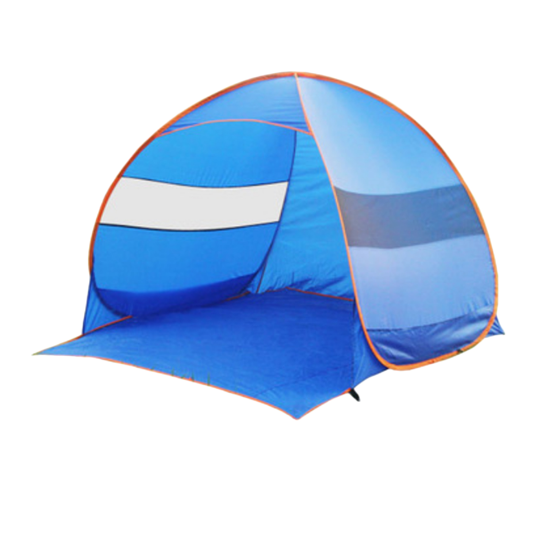 Automatic Outdoor Camping Hiking Tent 2-3 Person Portable Beach Tent Sun Shield Tent Canopy with Tent Pegs shengyuan outdoor water resistant automatic instant setup two doors 3 4 person camping tent with canopy