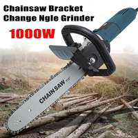 6 Speed Adjustable Electric Angle Grinder Chainsaw Woodworking Cutting Chainsaw Bracket Change Ngle Grinder 1000W 220V